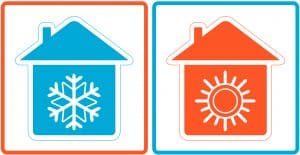 cooling-and-heating-house-symbols
