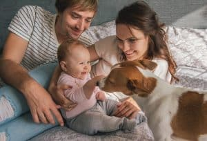 family-with-dog